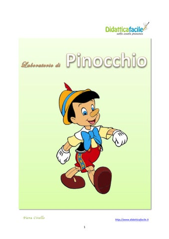 Laboratorio Di Pinocchio By Piera Civello Issuu