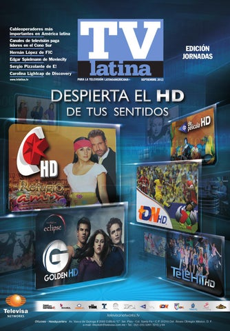 Tv Latina Jornadas 2012 By World Screen Issuu