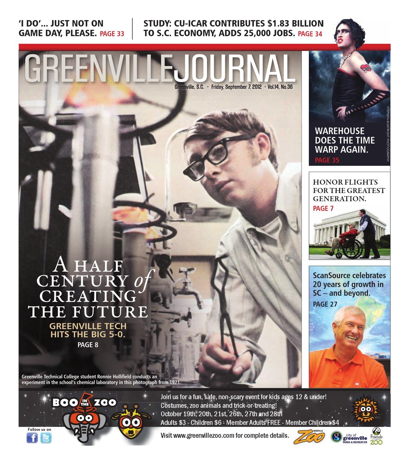 Sept 7 2012 Greenville Journal By Community Journals Issuu About 1971 Speed Circuit Grand Prix Racing 3m Board Game Complete