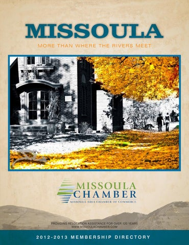 Missoula chamber of commerce directory by missoulian issuu missoula chamber directory malvernweather Choice Image