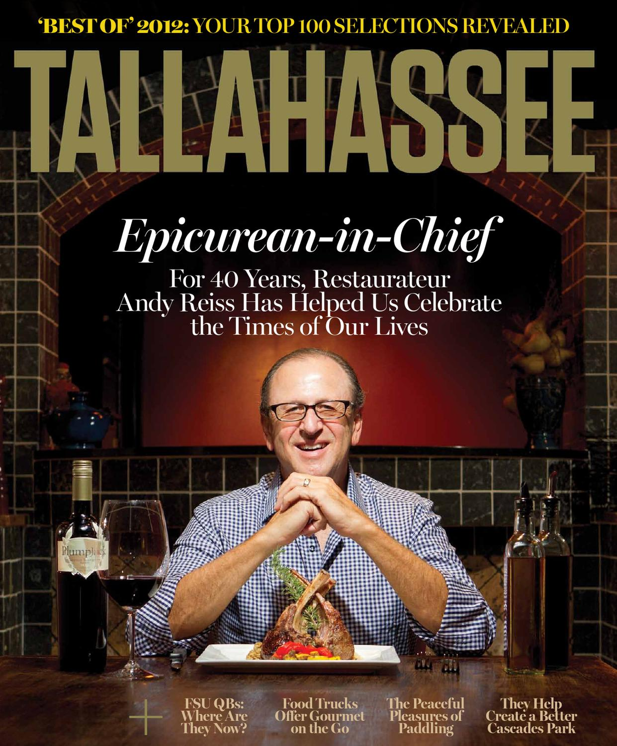 38a36d206 Tallahassee Magazine - September October 2012 by Rowland Publishing ...