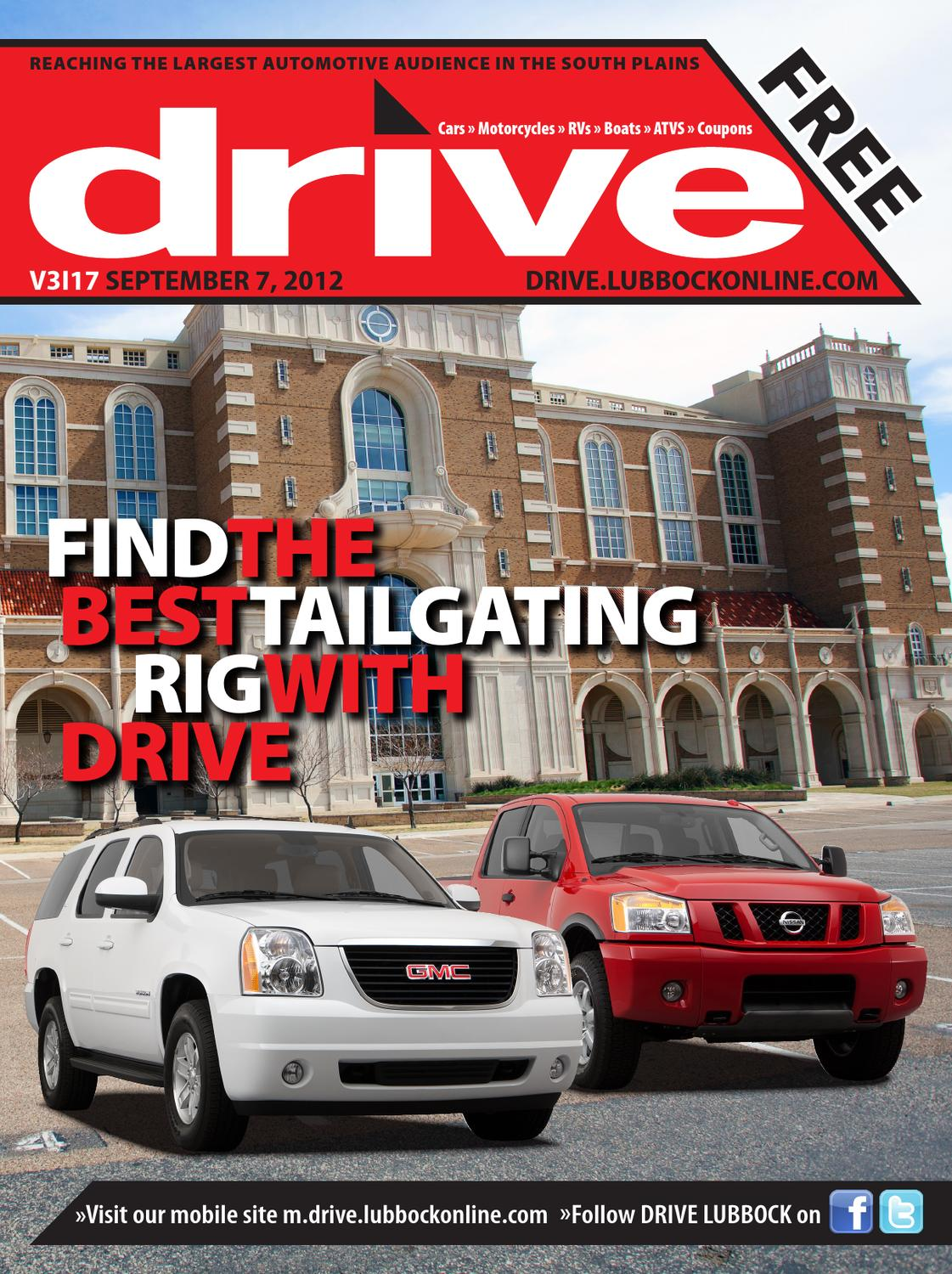 drive Vol. 3 Issue 17 (09/07/12) by Lubbock Avalanche-Journal - issuu