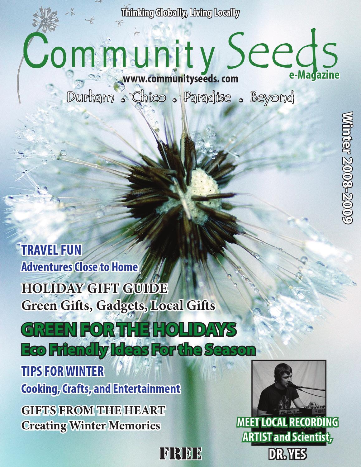Eco Community Seeds Winter 2008 by Eco Community Seeds Magazine ...
