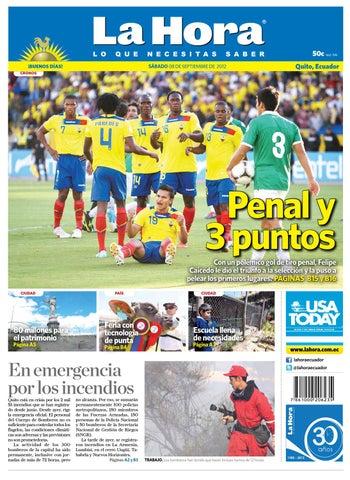 Edicion impresa Nacional del 08 de septiembre de 2012 by Diario La ... 3c2eecd22a11c