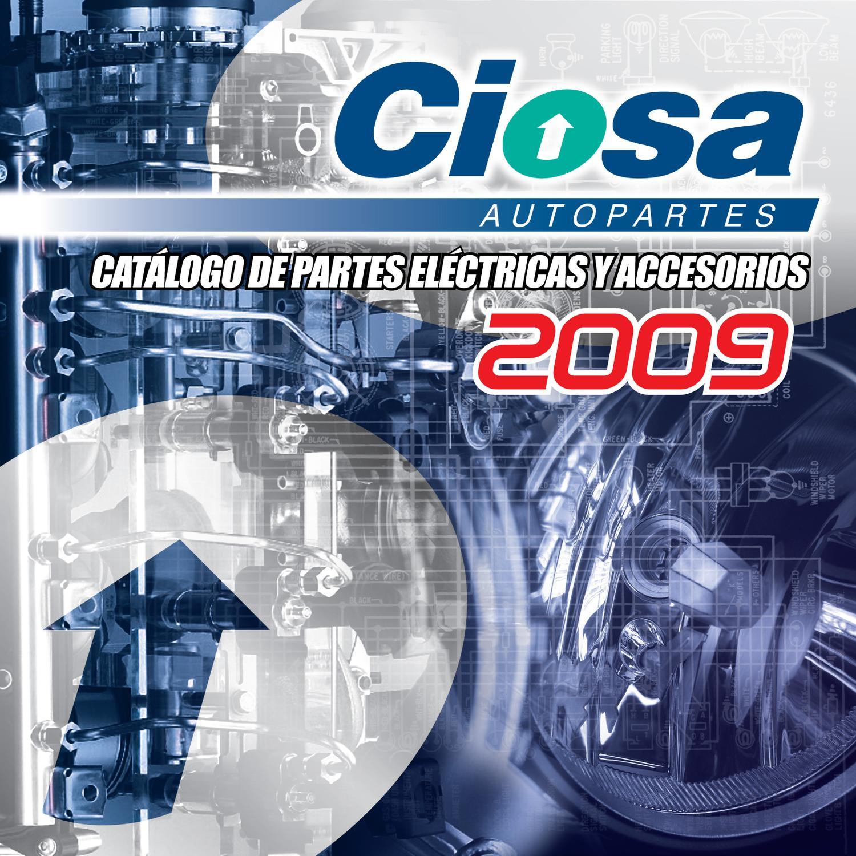 Catalogo Electrico 2009 By Ciosa Autopartes Issuu
