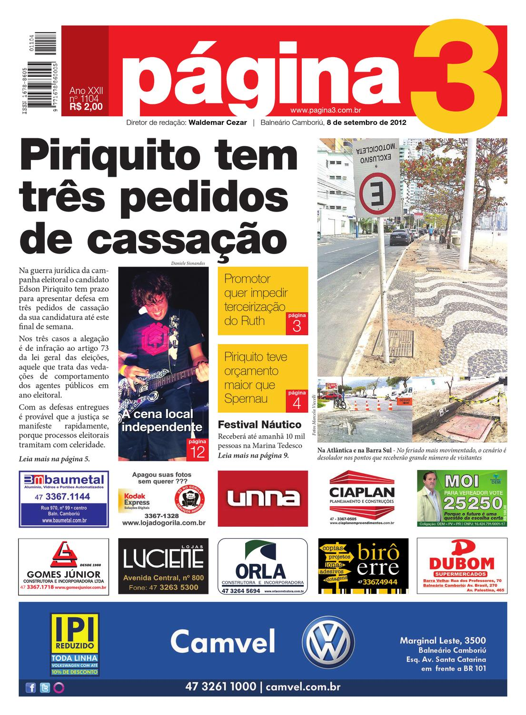 Jornal Página3 - edição 1104 by Jornal Página3 - issuu 80e7e04a58e38