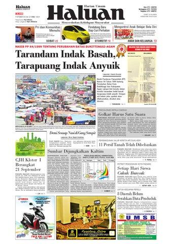 Haluan 09 September 2012 by Harian Haluan - issuu