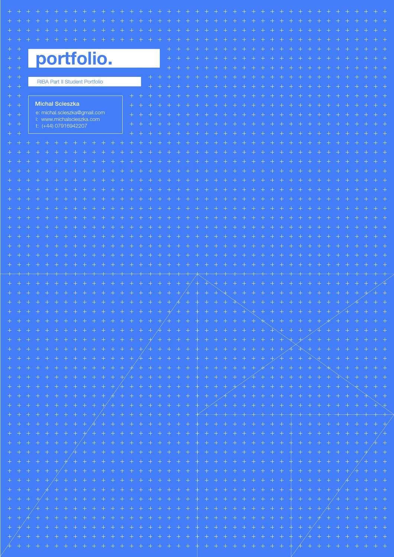 riba part ii student portfolio by michal scieszka