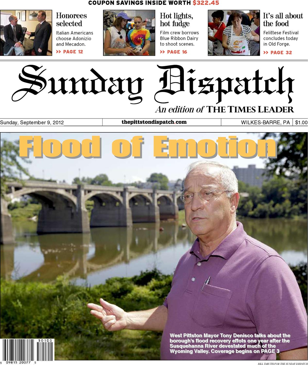 The Pittston Dispatch 09 09 2012 By The Wilkes Barre Publishing