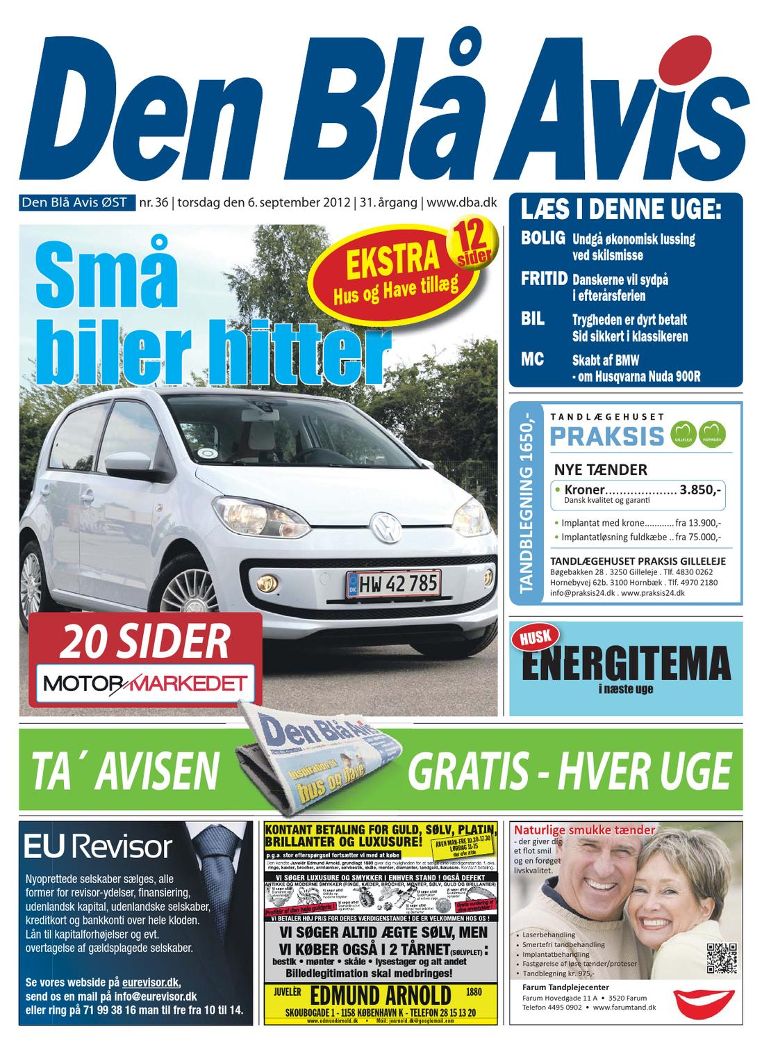 0830ae42029 Den Blå Avis - ØST - 36-2012 by Grafik DBA - issuu