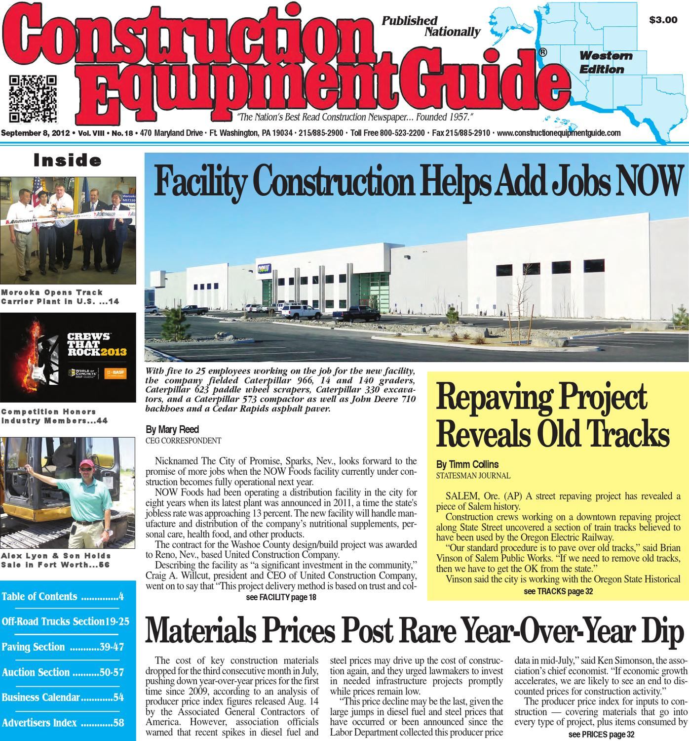 West 182012 By Construction Equipment Guide Issuu Wiring Harness Board Tooling Http Wwwbostonteccom Industrial