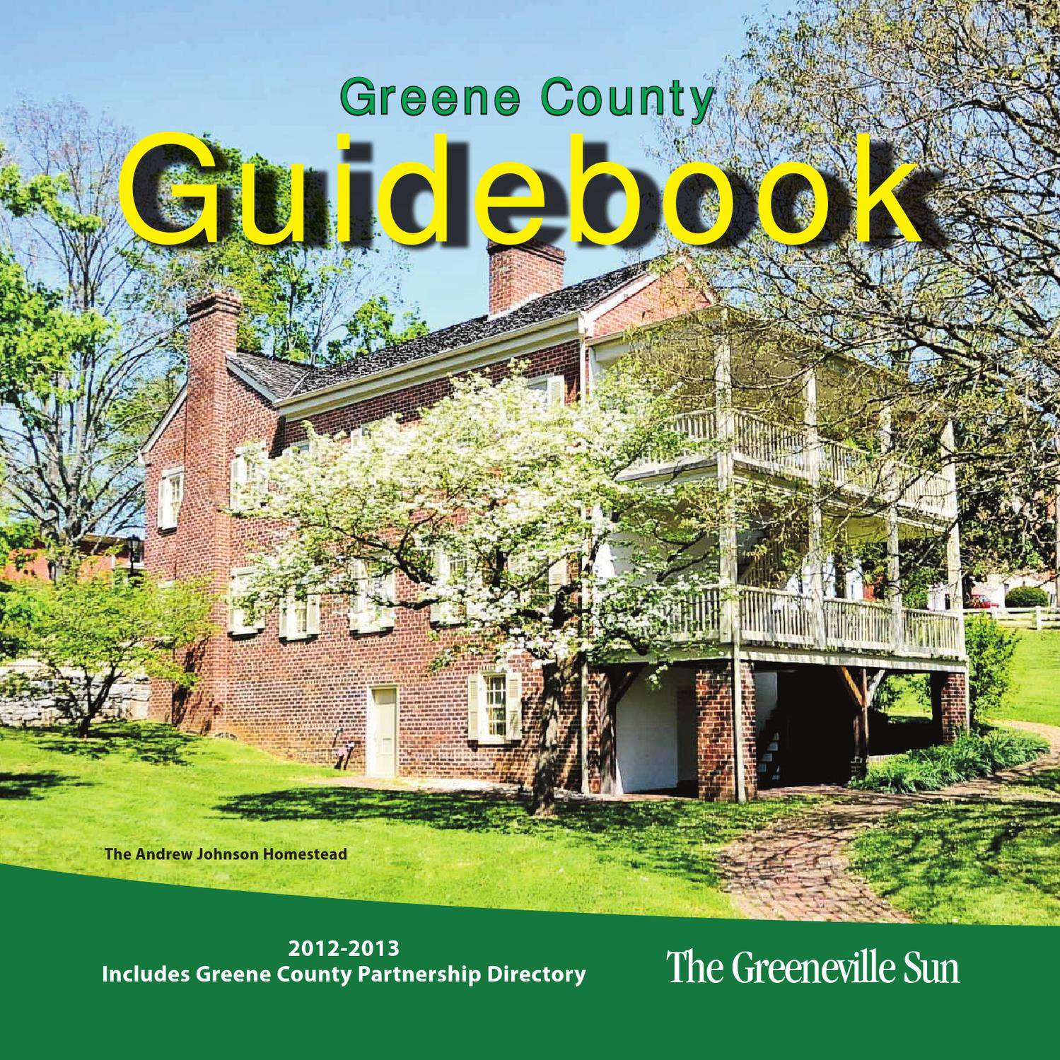 Greene county guidebook 2012 part 1 by the greeneville sun issuu fandeluxe Choice Image