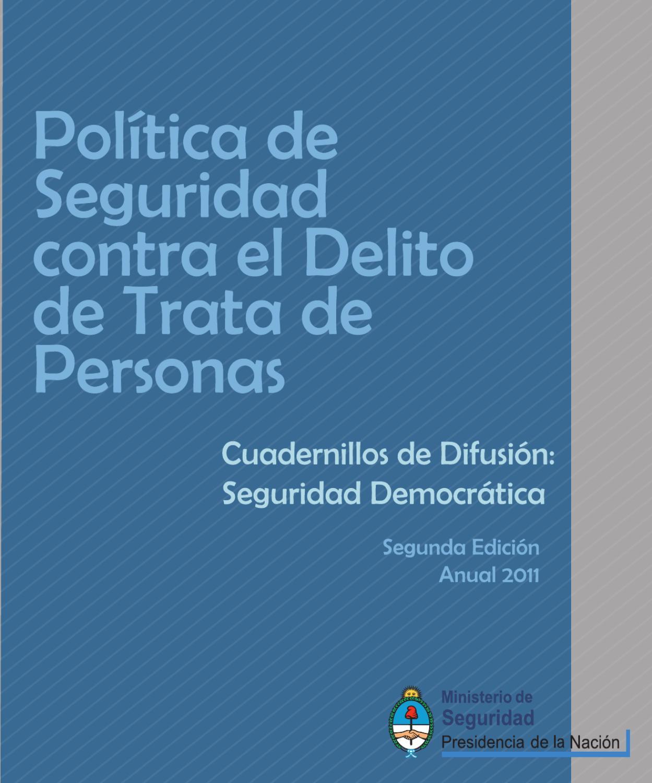 Cuadernillo De Trata De Personas 2 Edici N By
