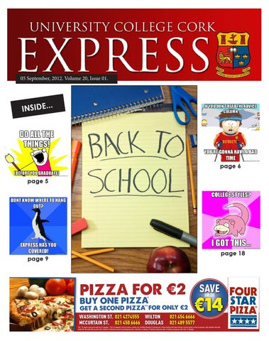 Fresher's Issue by University Express - issuu