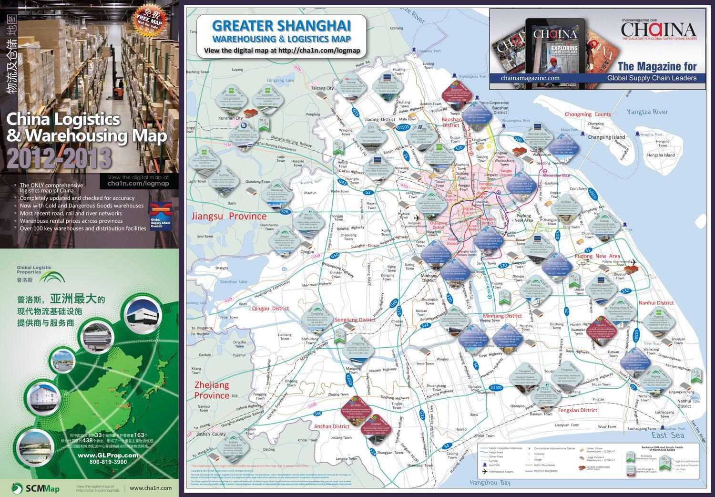 China Warehousing Logistics Map 2012 2013 By Chain Media Issuu