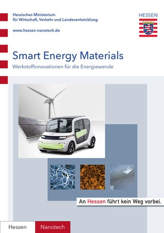 Smart Energy Materials - Materialinnovationen für by Markus Lämmer ...