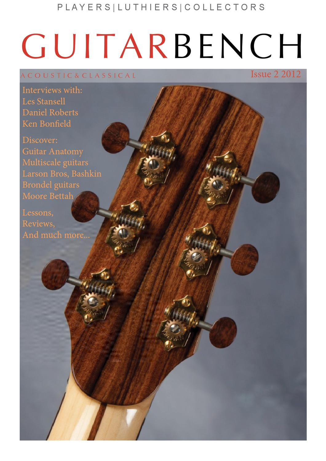 Guitarbench Magazine Issue 2 by Terence Tan - issuu