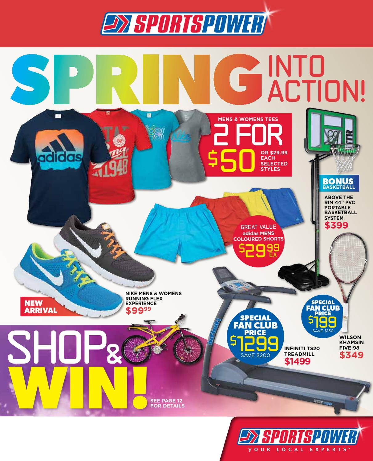 Sportspower Spring inot Action catalogue by Associated