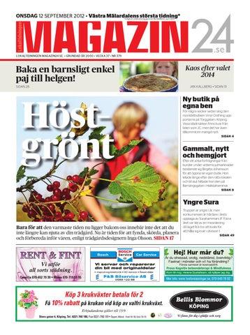 ONSDAG 12 SEPTEMBER 2012 • Västra Mälardalens största tidning    Enligt en  undersökning gjord av MarketWatch d98d6af3663b7