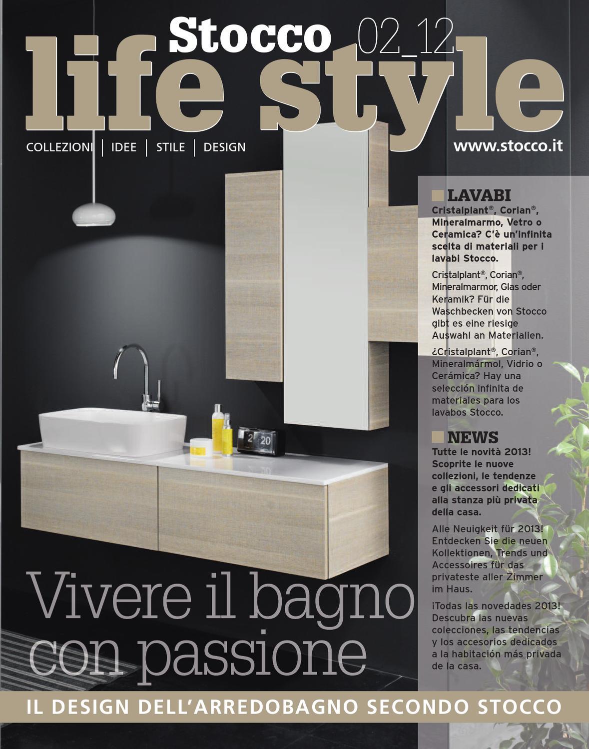 F Lli Stocco Arredo Bagno.Stocco Life Style 02 12 D By F Lli Stocco S R L Issuu