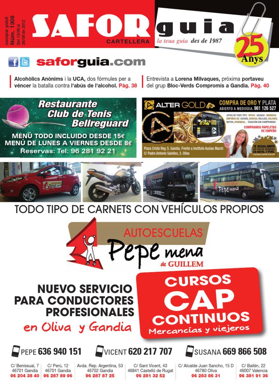 Edici Del 13 Al 26 De Setembre De 2012 By Saforguia  # Muebles Casal Tauste