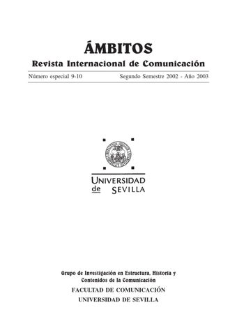 Ámbitos. N-13 N-14. Revista Internacional de Comunicación by Ámbitos  Revista Internacional de Comunicación - issuu