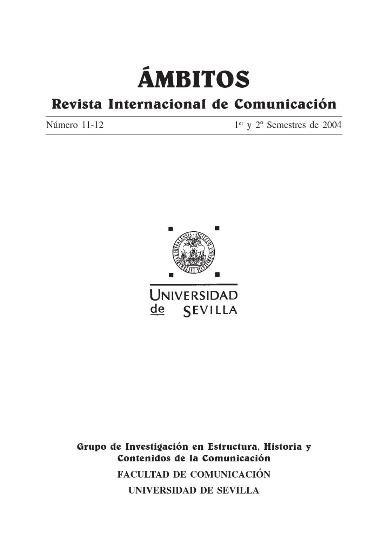 Ámbitos. N-11 N-12. Revista Internacional de Comunicación by Ámbitos ...