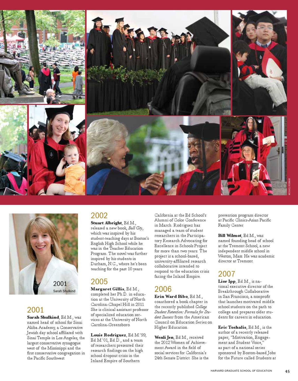 Ed  Magazine, Fall 2012 by Harvard Graduate School of