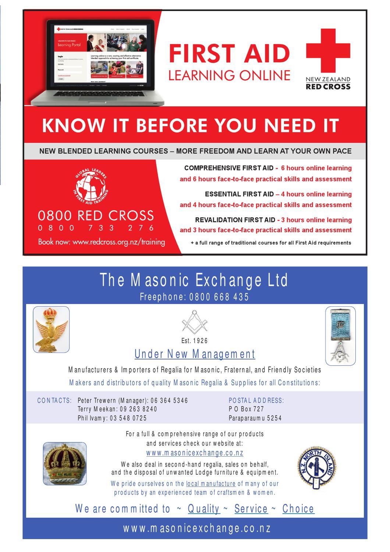 NZ Freemason magazine Issue 3 September 2012 by Freemasons