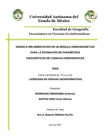 Tesis de Licenciatura by Guillermo Rodríguez Fernández - issuu