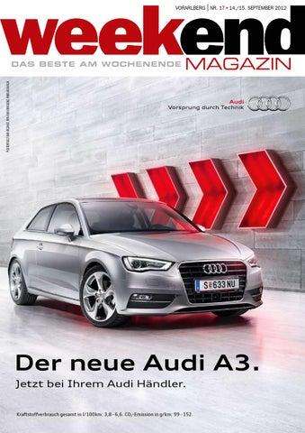 Weekend Magazin Vorarlberg 2012 KW 37 by Weekend Magazin