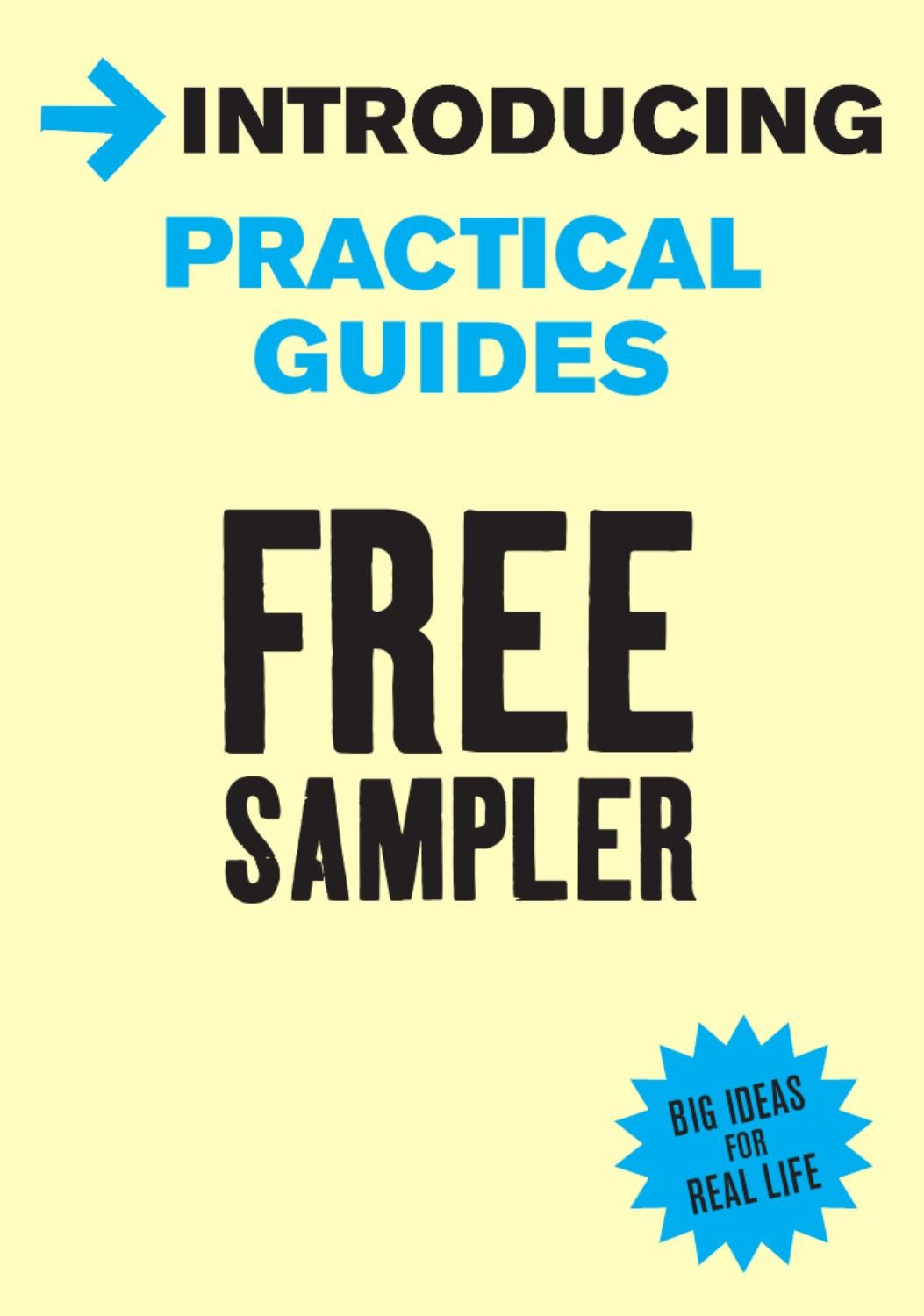 introducing practical guides free sampler by icon books