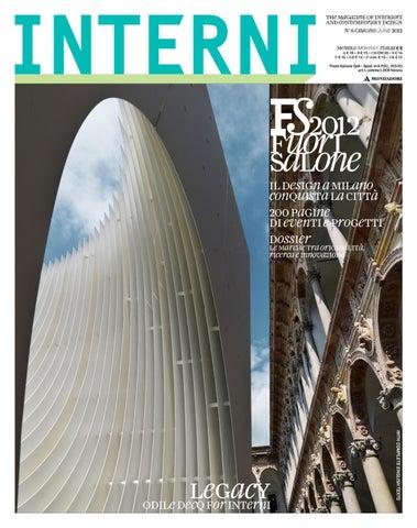 Interni Magazine 622 June 2012 By Interni Magazine Issuu