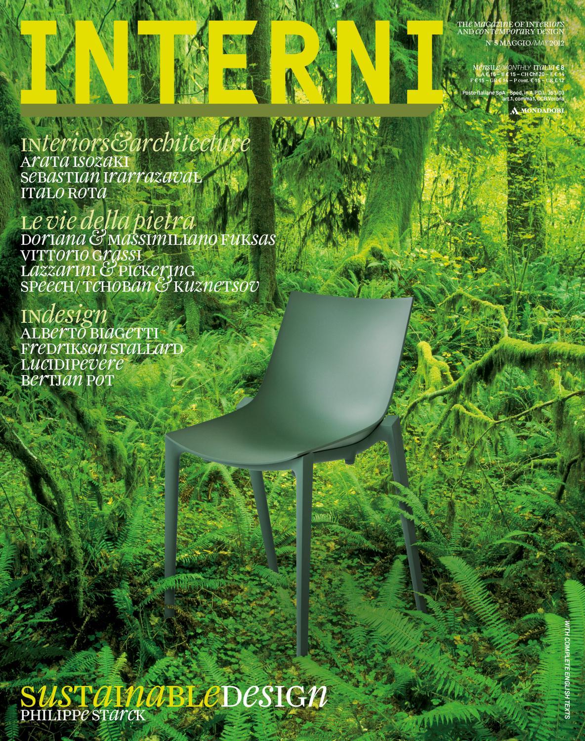 Interni Magazine 621 May 2012 By Interni Magazine Issuu