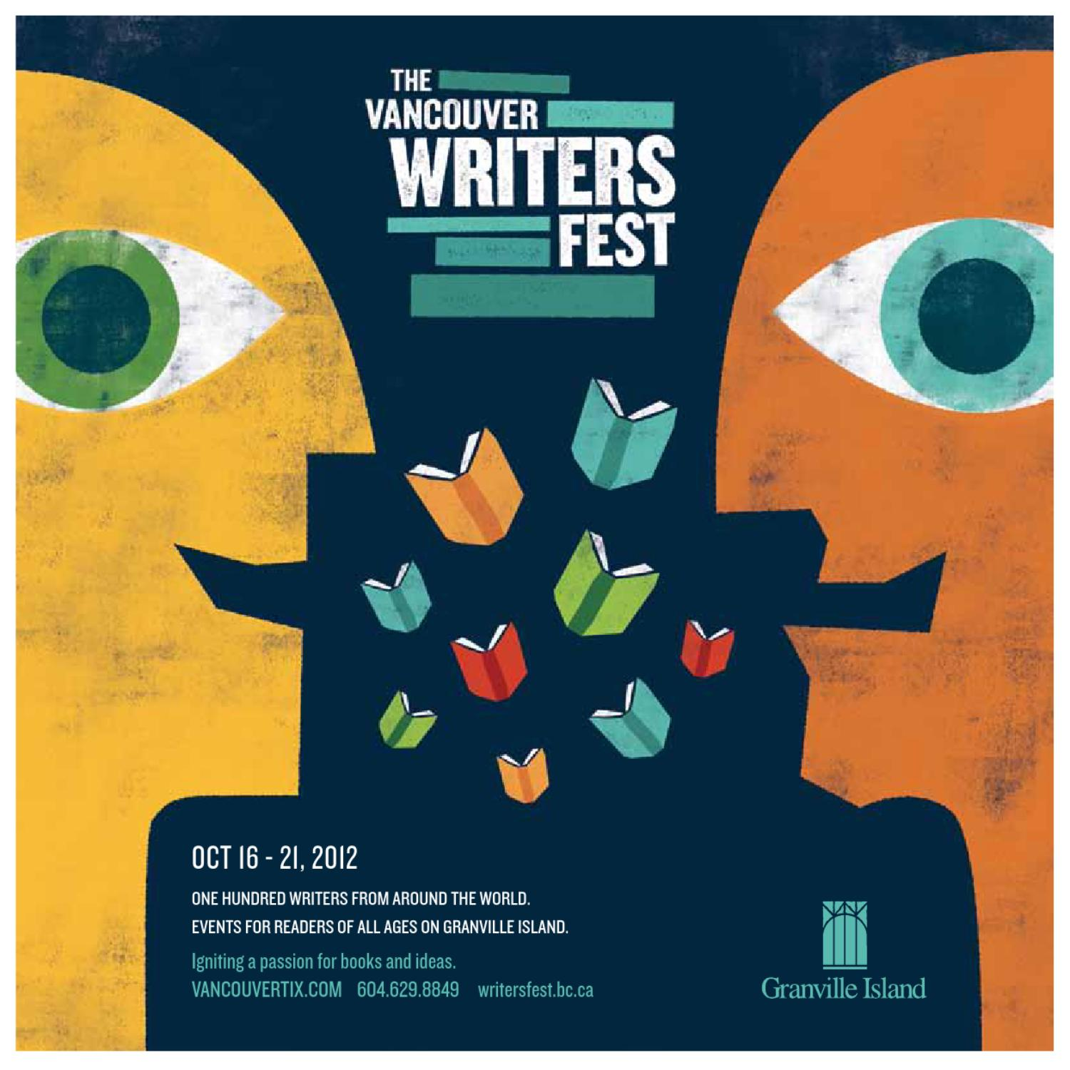 Vancouver Writers Fest 2012 Festival Guide by Vancouver Writers Fest ... ba26f36c366