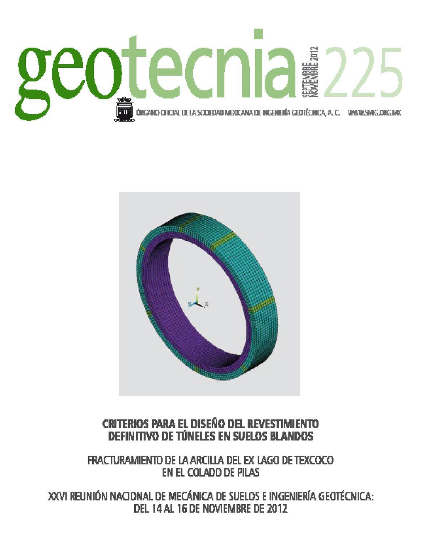 Revista Geotecnia 225 septiembre-noviembre by Helios Comunicación ...