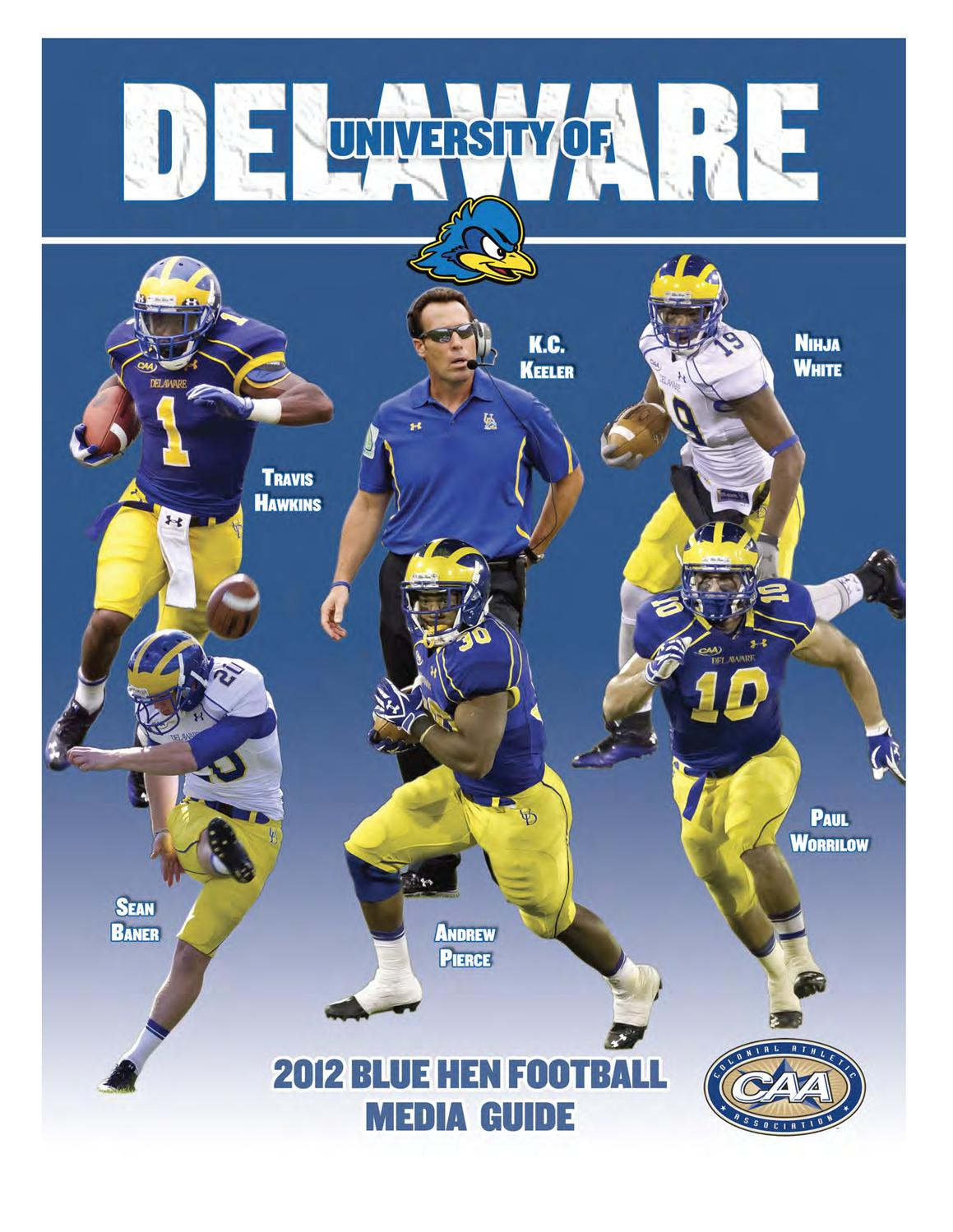 d1936a348 2012 Football Media Guide by UDBlueHens Delaware - issuu