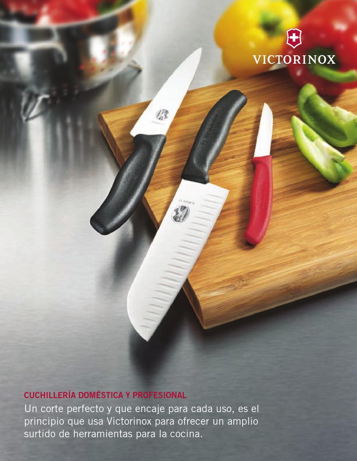 Cuchiller a y cocina cat logo digital by matesa issuu for Cuchilleria profesional cocina