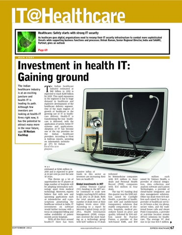 Express Healthcare September 2012 Part 2 by Indian Express - issuu