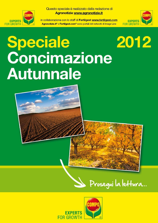 Calendario Concimazione Agrumi.Concimazione Autunnale Speciale Agronotizie Fertilgest