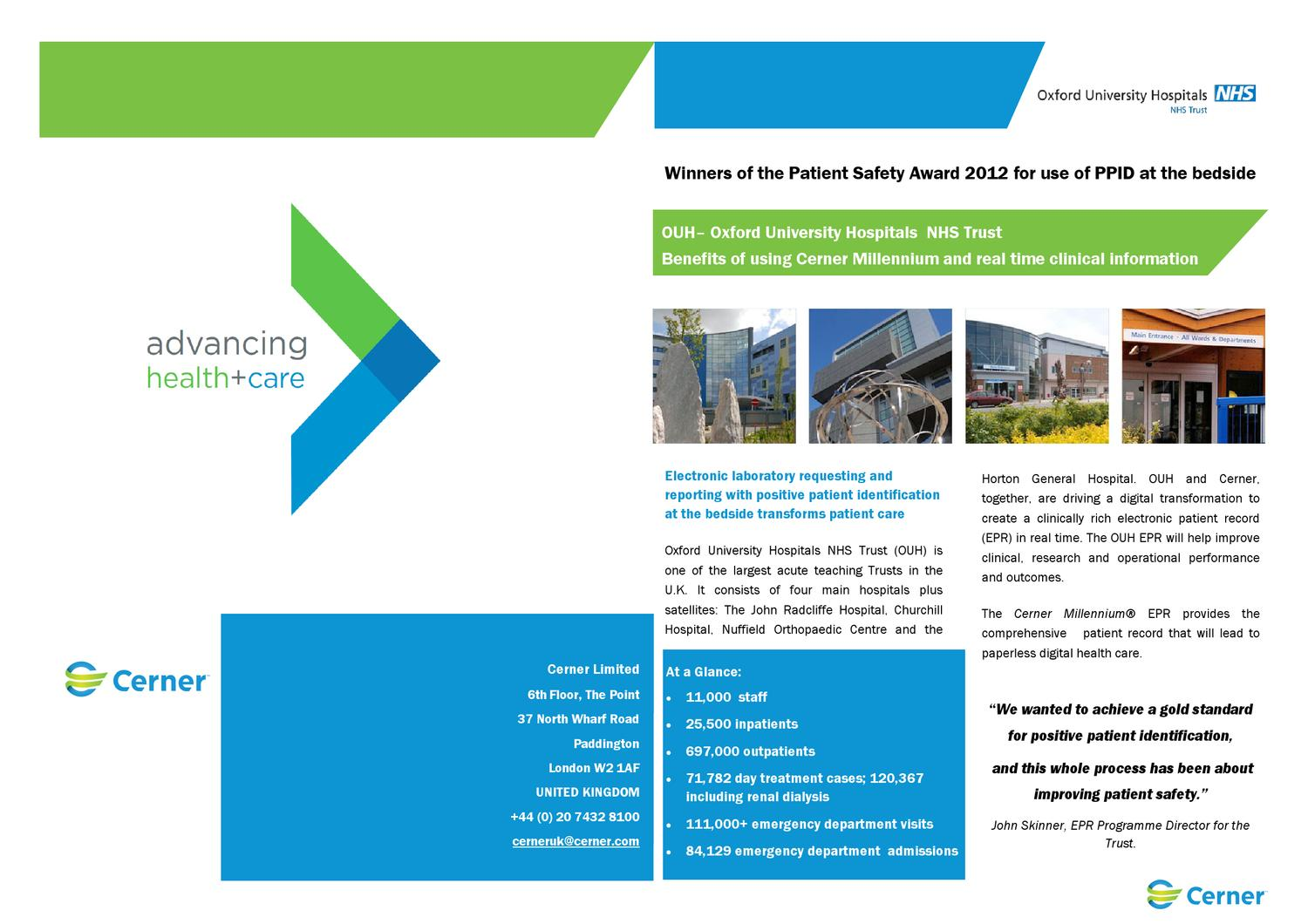 Oxford University Hospitals: PPID and TAP & GO by h k - issuu