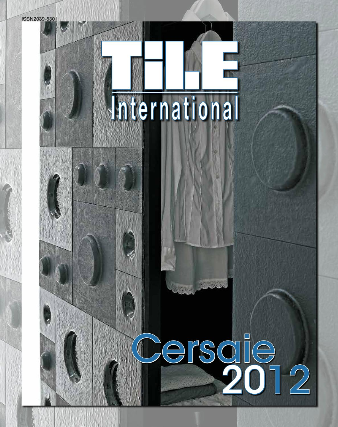 817e1fee2ed23 Tile International 3 2012 by Tile Edizioni - issuu