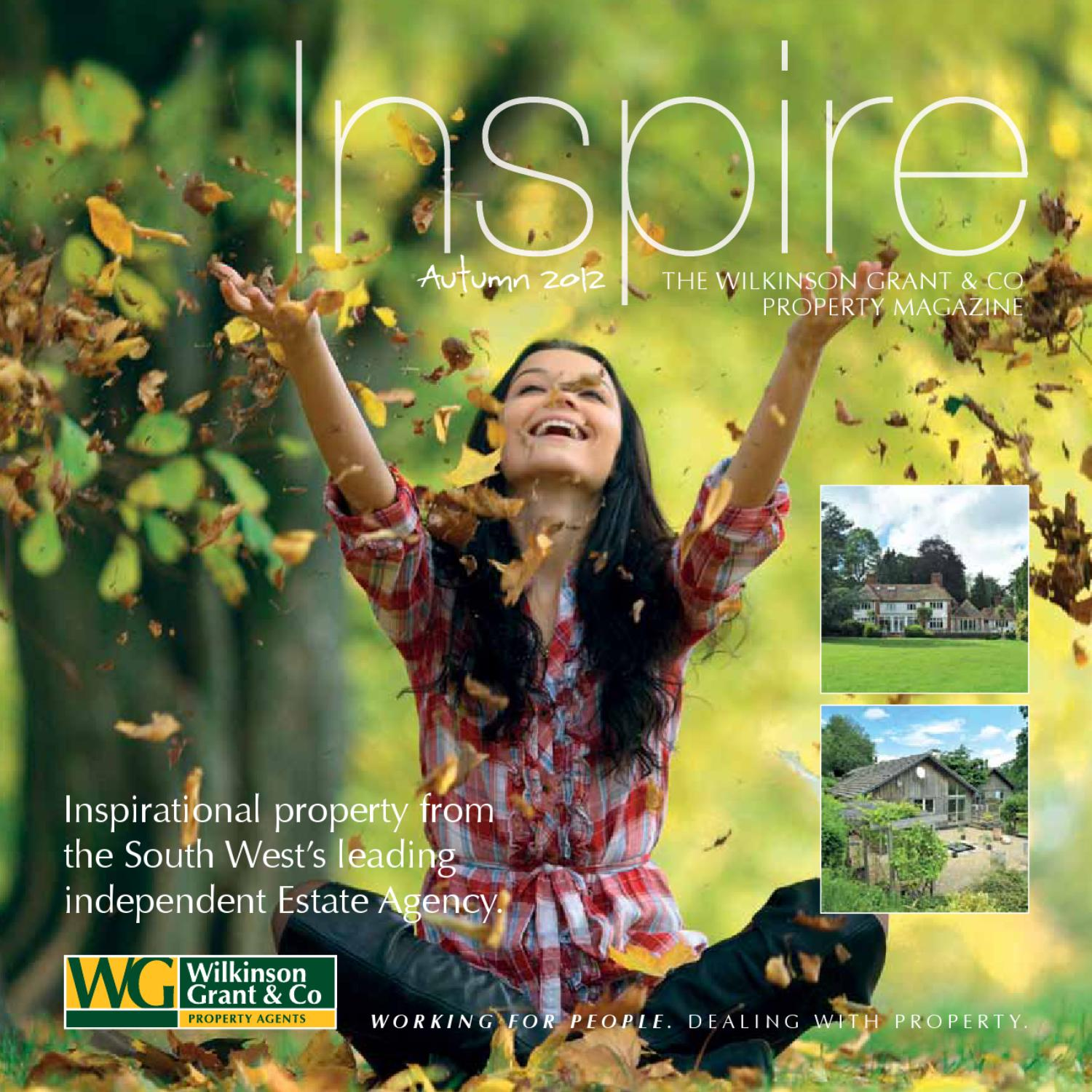 Wilkinson Grant Inspire Magazine By Kingfisher Print Design Issuu