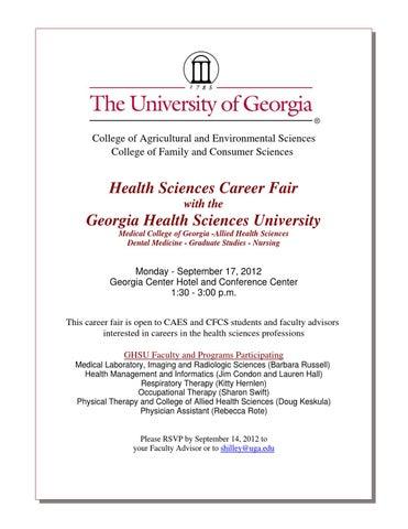 Fall 2017 Major Hospital and Health Sciences Career Fair by Liberty