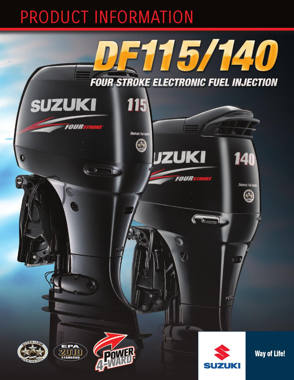Suzuki Outboards 115-140 by GARZON STUDIO - issuu