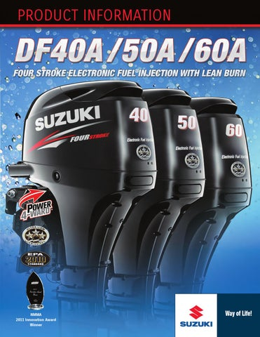 Suzuki DF 40 50 4 four stroke Starter Solenoid