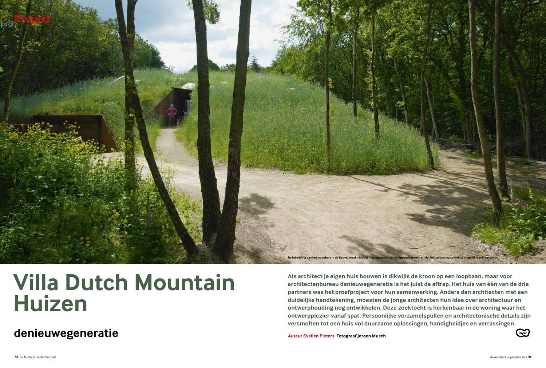 Dutch Mountain Woning : Villa dutch mountainhuizen by evelien pieters issuu