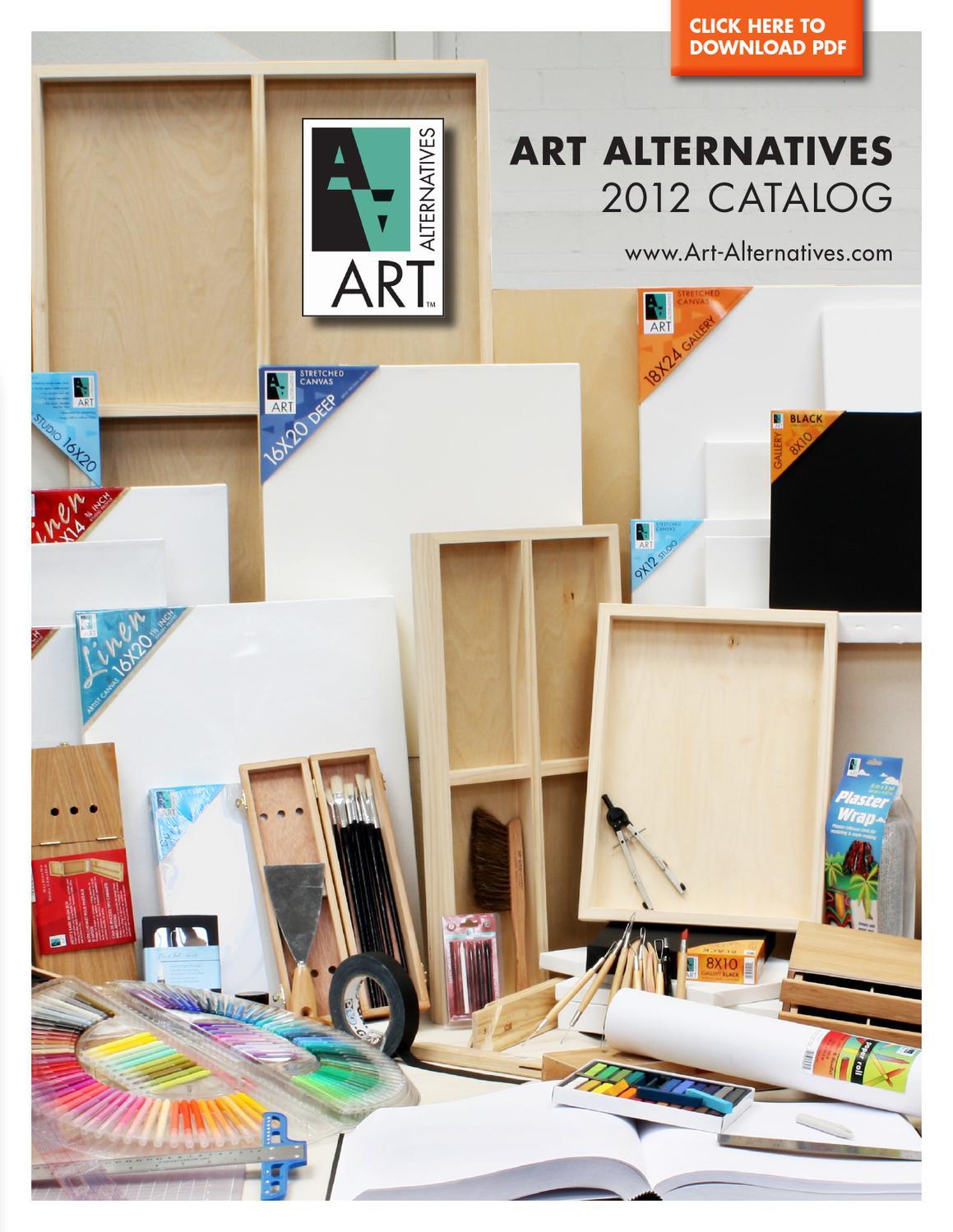 "Each Art Alternatives AA7011 12/"" X 16/"" Canvas Panel"