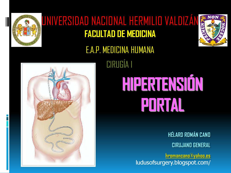 Hipertensión de la vena porta con hígado pequeño