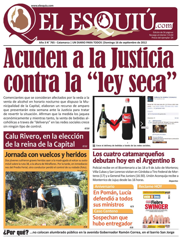 El Esquiu Com Domingo 16 De Septiembre De 2012 By Editorial El  # Muebles Nuri Tenerife